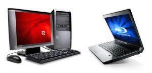 Różnica między komputerem klasy PC, a laptopem